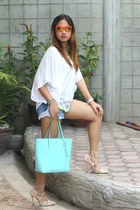 kate spade bag - Zara shorts