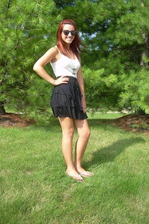 ruffle skirt againn