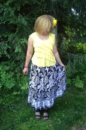 bali print skirt