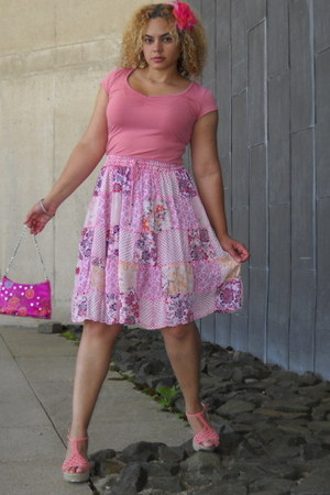 bubble gum skirt