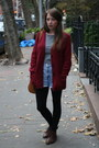 Vintage-boots-forever-21-shirt-vintage-shorts-urban-outfitters-cardigan