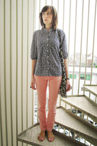 Uniqlo shirt - Ne-net purse - Local Department Store jeans