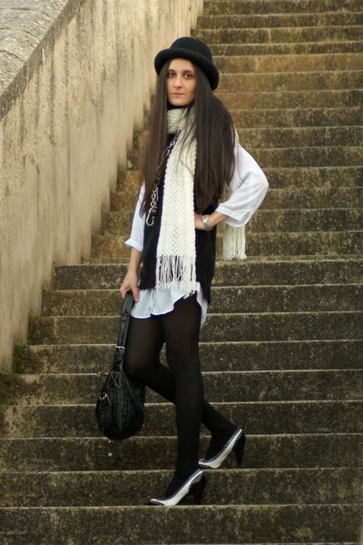 shoes - hat - sweater - shirt - bag