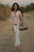 bag - shoes - blouse - pants