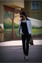 Mango jeans - Bershka bag - Zara heels