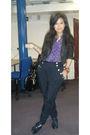 Blue-vintage-shoes-black-warehouse-jacket-blue-vintage-blouse-black-topsho