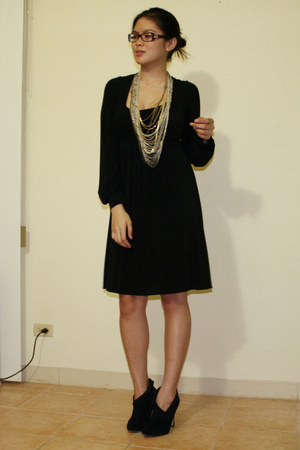 BCBG dress - f21 shoes - f21 necklace