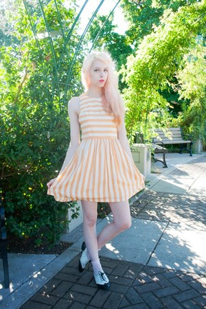 Dahlia dress - asos socks