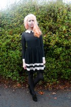 black Sheinside dress - black Mod Cloth wedges