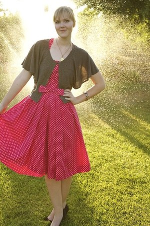polka dot Emily & Fin dress