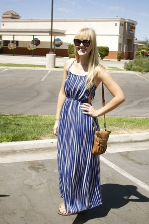 blue banana republic dress