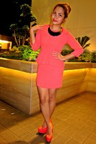 coral Forever 21 dress
