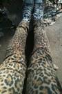 Leopard-print-h-m-jeans-converse-sneakers