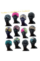 turbans Created by Fortune accessories
