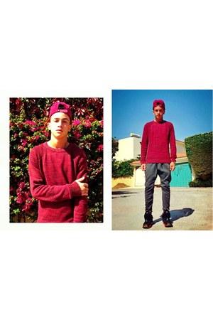 H&M sweatshirt - pull&bear pants - nike sneakers