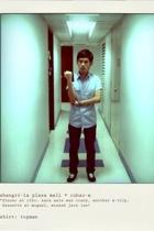Topman shirt - Topman jeans - Vans shoes - wallet