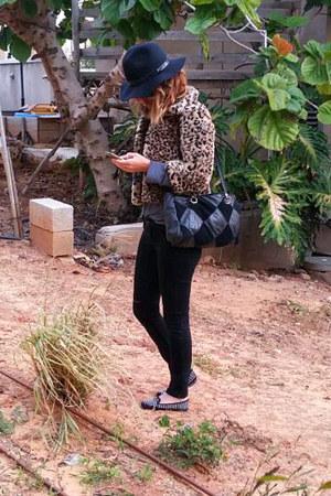 black black Zara jeans
