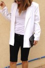 White-white-thrifted-vintage-blazer-blue-pointed-toe-zara-shoes