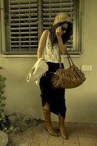 lace top - maxi dress