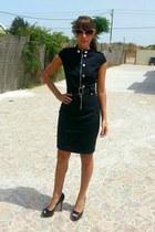 black HALstyle dress
