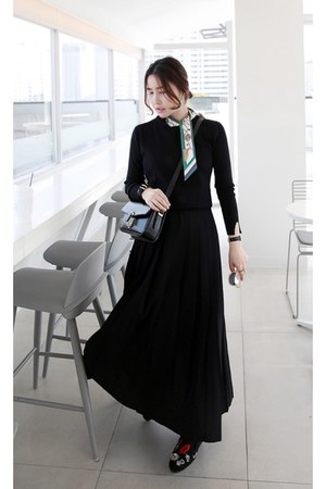 black MIAMASVIN bag - MIAMASVIN skirt