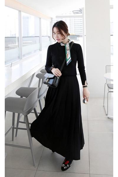 black MIAMASVIN bag - MIAMASVIN skirt