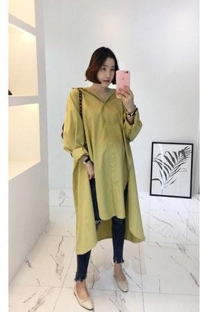 mustard MIAMASVIN dress