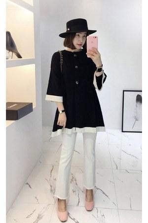 black MIAMASVIN cardigan - light pink MIAMASVIN heels