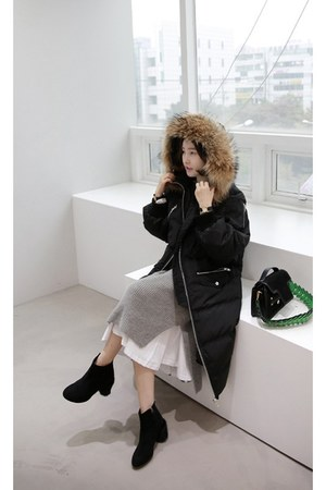 black MIAMASVIN coat
