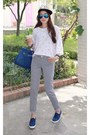 White-miamasvin-t-shirt-heather-gray-miamasvin-pants-blue-miamasvin-sneakers