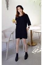 black MIAMASVIN dress - MIAMASVIN loafers