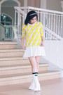 White-gu-japan-shoes-white-gu-japan-socks-yellow-rianne-venice-sweatshirt