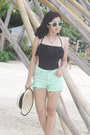 Aquamarine-vanilla-breeze-clothing-shorts-aquamarine-metro-sunnies-sunglasses