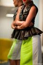 Black-stolen-girlfriends-club-vest-chartreuse-mossman-skirt