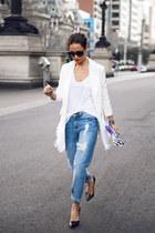 sky blue boyfriend jeans Dricoper Denim jeans