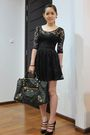 Black-miss-selfridges-dress-black-balenciaga-purse-black-louboutin-shoes