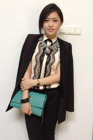 Lover top - Zara suit