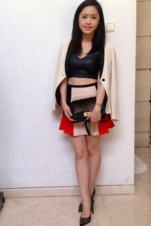 Zara top - Zara skirt