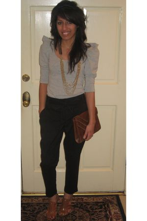 Urban Outfitters top - Arden B pants - Jessica Simpson shoes - Forever 21 access
