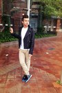 Black-oxford-cole-haan-shoes-black-biker-coach-jacket-white-2xist-t-shirt