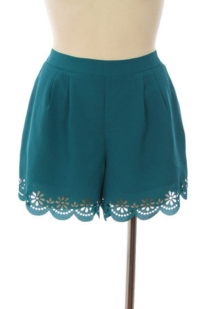 lace michal  zoe shorts