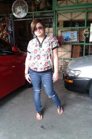 blouse - pants