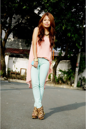 aquamarine mint FG pants