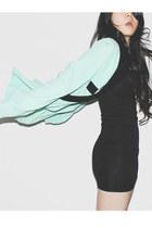 hanake cardigan - H&M dress