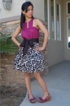 Victorias Secret top - f21 skirt - Zara shoes