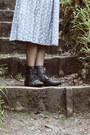 Black-lace-up-pixie-ebay-boots-black-attik-cardigan-white-tank-primark-top-