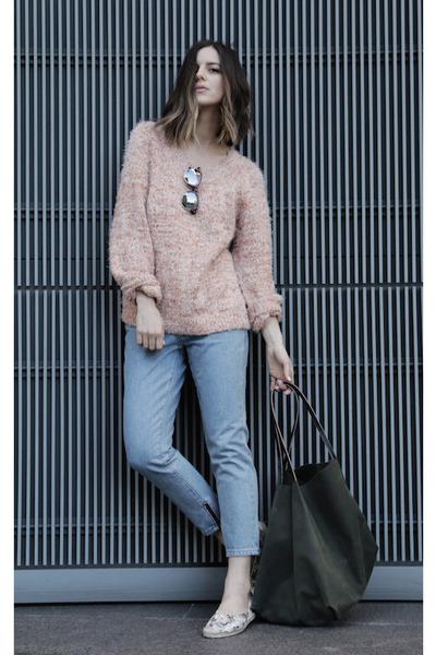 fuzzy Ganni sweater