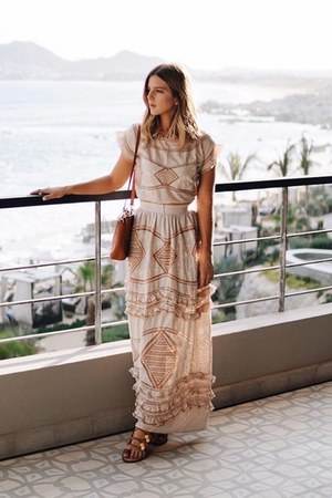 cotton For Love and Lemons dress