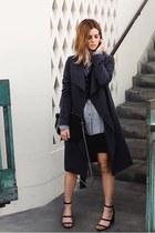 leather Senso heels