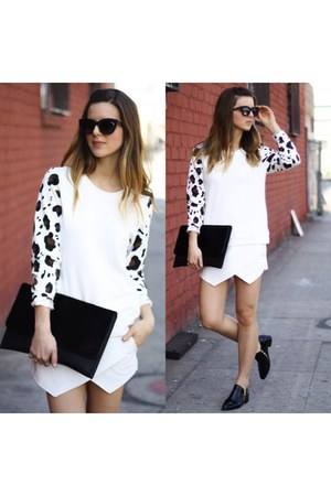 white leopard Townsen jumper